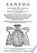 Santos y Santuarios del Obispado de Iaen y Baeza. Prueba de lo resvelto por los santos, etc
