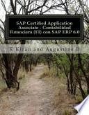 SAP Certified Application Associate - Contabilidad Financiera (FI) con SAP ERP 6. 0