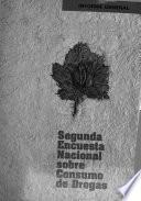 Segunda encuesta nacional sobre consumo de drogas Ecuador, 1995