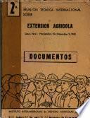 Segunda reunion tecnica internacional sobre extension agricola - Lima, Peru, Noviembre 20-Diciembre 2, 1961