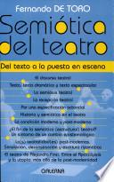 Semiótica del teatro : del texto a la puesta en escena