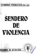 Sendero de violencia