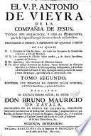 Sermones del V. P. Antonio de Vieype y sus obras