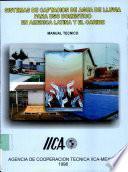 Sistemas de Captacion de Agua de Lluvia para Uso Domestico en America Latina y el Caribe