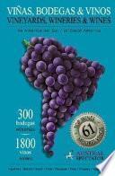 South American vineyards, wineries & wines