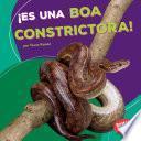SPA-ES UNA BOA CONSTRICTORA (I