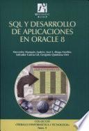 SQL y desarrollo de aplicaciones en Oracle 8