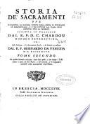 Storia de' sacramenti