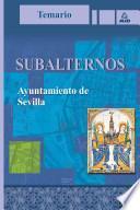 Subalternos Del Ayuntamiento de Sevilla.temario.e-book.
