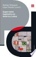 Supervisión legislativa en América Latina