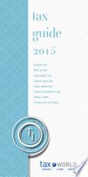 tax booklet 2015