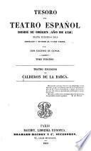 Teatro escogido de Calderón de la Barca