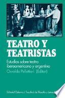 Teatro y teatristas