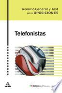 Telefonistas. Temario Y Test.coleccion Temarios Generales.ebook.