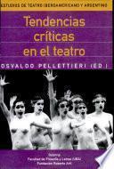 Tendencias críticas en el teatro