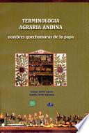 Terminología agraria andina