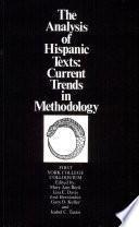 The Analysis of Hispanic Texts