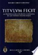Titulum fecit