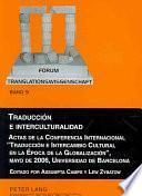 Traducción E Interculturalidad
