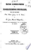 Tratado académico-forense de procedimientos judiciales