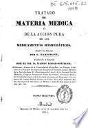Tratado de materia médica ó de la acción pura de los medicamentos homeopáticos