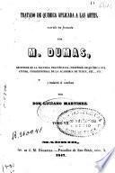 Tratado de química aplicada a las artes