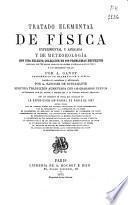Tratado elemental de física experimental y aplicada y de meteorología, con una selecta colección de 100 problemas resueltos