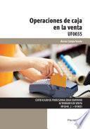 UF0035 - Operaciones de caja en la venta