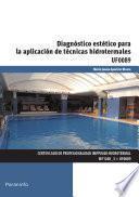 UF0089 - Diagnóstico estético para la aplicación de técnicas hidrotermales