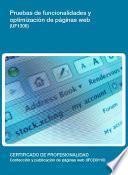 UF1306 - Pruebas de funcionalidades y optimización de páginas web