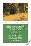Una lady Macbeth de Mtsensk / El rey Lear de la estepa