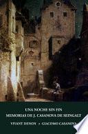 Una Noche Sin Fin Y Memorias de J. Casanova de Seingalt