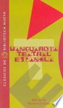 Vanguardia teatral española