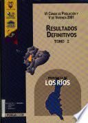 VI censo de población y V de vivienda, 2001: Provincia de Los Ríos