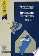 VI censo de población y V de vivienda, 2001: Provincia de Zamora Chinchipe