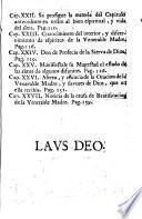 Vida abreviada de la ven. madre soror Francisca Dorotea, fundadora del religiosissimo Convento de Dominicas Descalzas de Sevilla ...