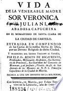 Vida de la venerable madre sor Veronica Juliani ...
