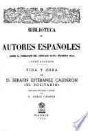 Vida y obra de D. Serafín Estébanez Calderón, El Solitario.