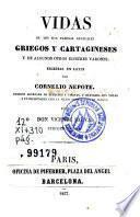 Vidas de los mas famosos generales griegos y cartagineses y de algunos otros ilustres varones