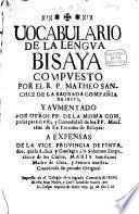 Vocabulario de la lengua Bisaya