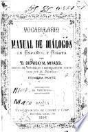 Vocabulario; o, Manual de diálogos en español y bisaya