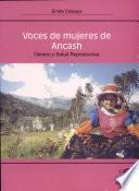 Voces de mujeres de Ancash