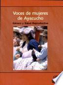 Voces de mujeres de Ayacucho