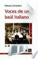 Voces de un baúl italiano