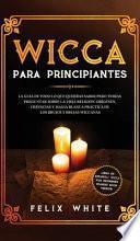 Wicca para Principiantes