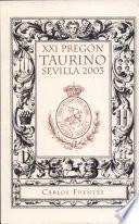 XXI pregón taurino de Sevilla